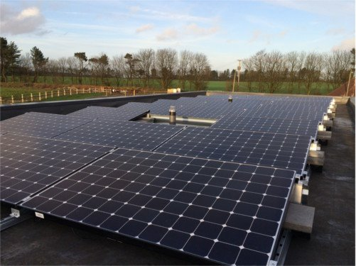 BENQ 300W Solar edge optimisers lenham private project